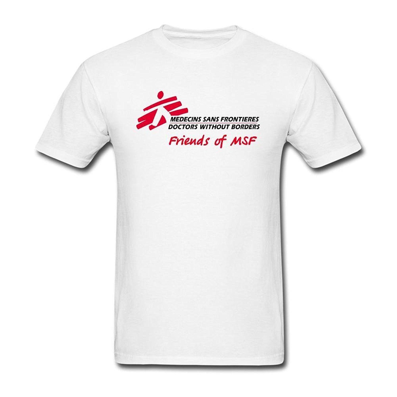 7c4c49982a Compre Verão Novos Homens Camiseta De Algodão Médicos Sem Fronteiras Amigos  De Msf Camisa Logotipo T Para Homens De Shiningteestore, $28.41 |  Pt.Dhgate.Com