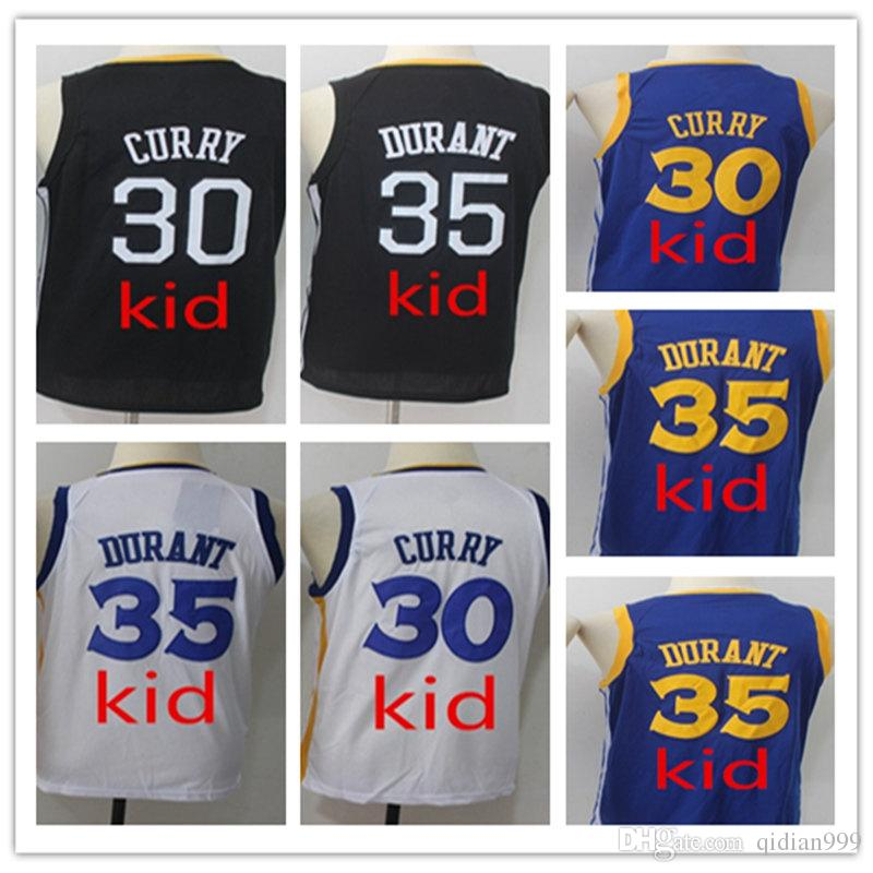 02a455017 Youth Fans Shirts 35 Kevin Durant Jerseys Kid Urant Jersey Stitched ...