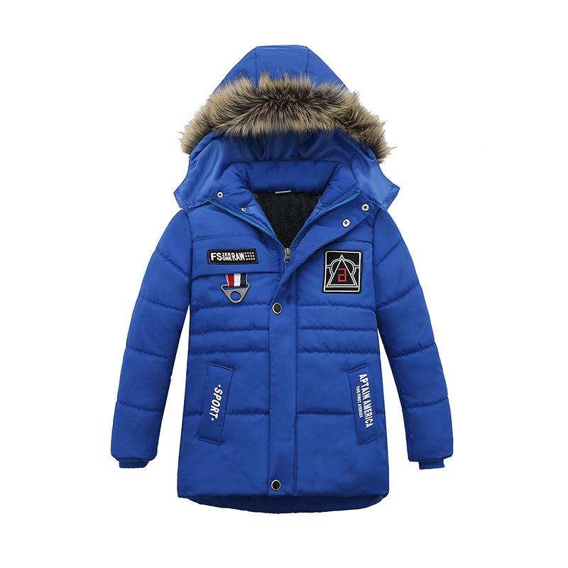 fab519aaa18f Winter Warm Child Coat Children Outerwear Kids Clothes Windproof ...