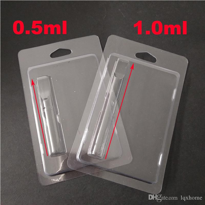 Wholesale Clear Clam Shell Blister Packaging for All Cartridges G2 92A3 Vaporizer 510 Thread Thick Oil Atomizer