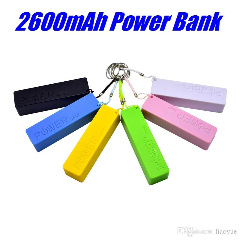 Mobile charger power bank Mini USB Portable Charger backup battery charger For iPhone X 8 Plus HTC samsung S8 Plus with Packages