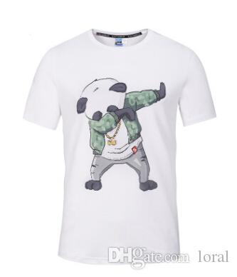 Acquista Abbigliamento Da Uomo Hip Hop Panda Dab Dance Stampato Magliette  Casuali Estate Maschile Girocollo T Shirt A Maniche Corte A  22.0 Dal Loral  ... f3f25a96de6e