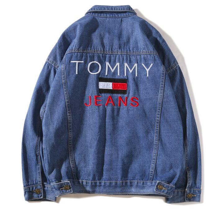 Compre Venta Caliente De Los Hombres De Hip Hop Jeans Chaqueta Azul Marino  Abrigo De Las Mujeres Tops Primavera Y Otoño Harajuku Verano Sudaderas  Hombres ... f70246578791