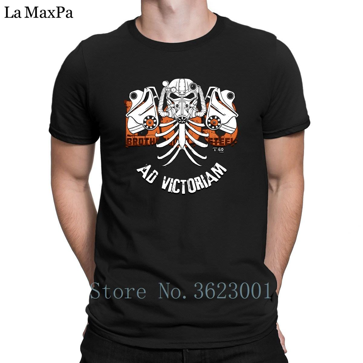 d05a690f4 Personalized Cotton Men'S T Shirt Ad Victoriam Men T Shirt Branded Summer Tee  Shirt For Mens Tee Tops Tee Shirt Trend Fashion Be Awesome T Shirt Print On  ...