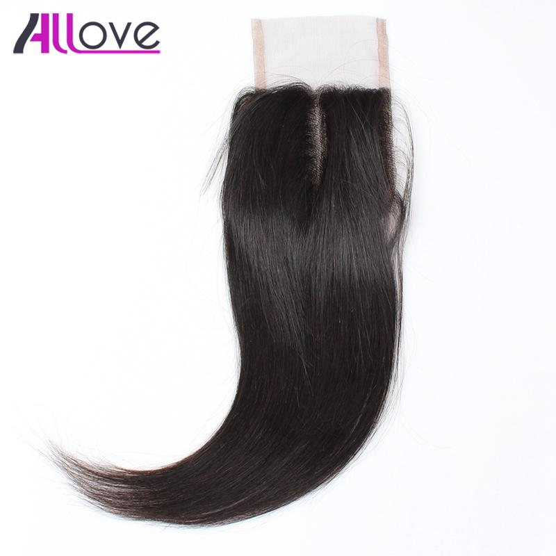 8A Brazilian Virgin Hair Straight Lace Closure 1pc Peruvian Human Hair Top Closure Mink Malaysian Straight Indian Straight Virgin Hair