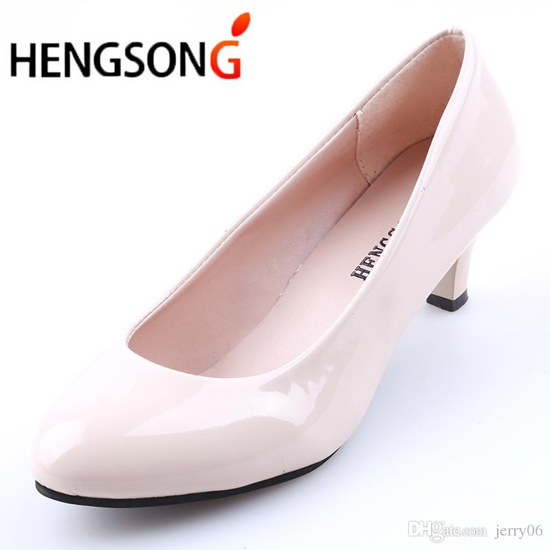 0a39aeb2 Compre Pasillo De Modasow Mouth Fashion Women Shoes Oficina Tacones Altos  Zapatos Casuales Para Damas Elegantes Mujer Tr913388 A $8.27 Del Jerry06 |  Dhgate.