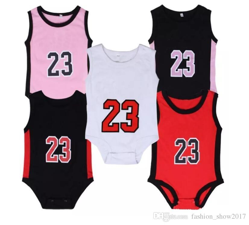 Baby Romper Summer Infant 23 number Jumpsuits kids Climbing Clothes Toddler Infant Outwear Baby Boy's Rompers Baby Clothes