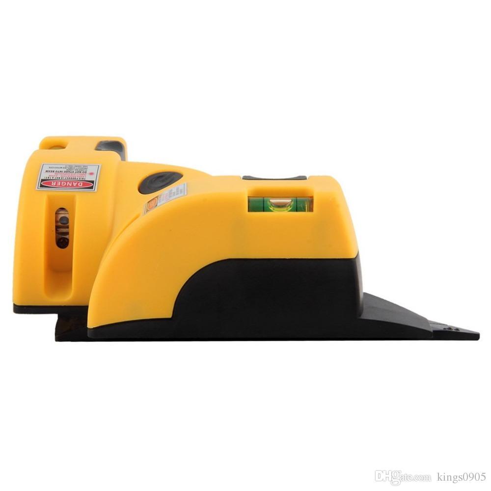 Laser ad angolo retto 90 gradi Square Dropshipping Vertical Line Line Projection Level Tool Misura del piede a infrarossi