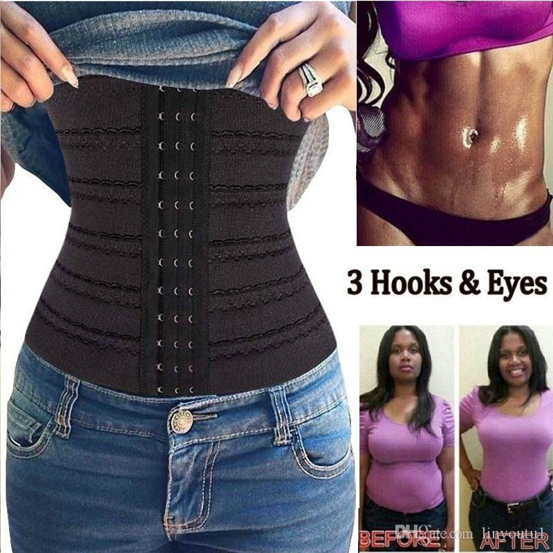 258a176197 2019 Clothing Bustier Fat Burning Girdle Belt Sexy Women Body Waist Trainer  Shapers Underbust Belt Corset Faja Reductora Shapewear From Linyoutu1