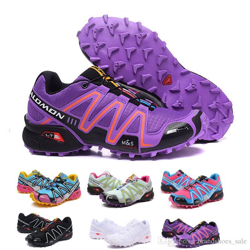 875cd91e7456 2018 NEW ARRIVEL Salomon Women Shoes Zapatos Hombre Speed Cross 3 CS III  Sport Sneakers Women Speed Cross Solomon Running Shoes 36 40 Best Womens  Running ...