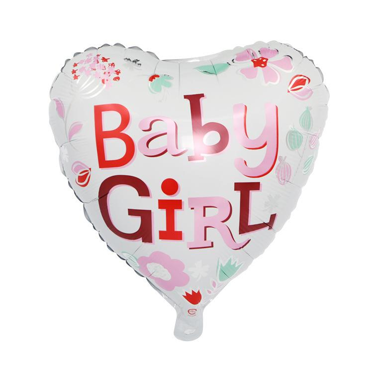 18 Inch Boy Girl Foil Balloons Baby Showers Aluminum Balloon Birthday Decoration Party Supplies Haif Online With
