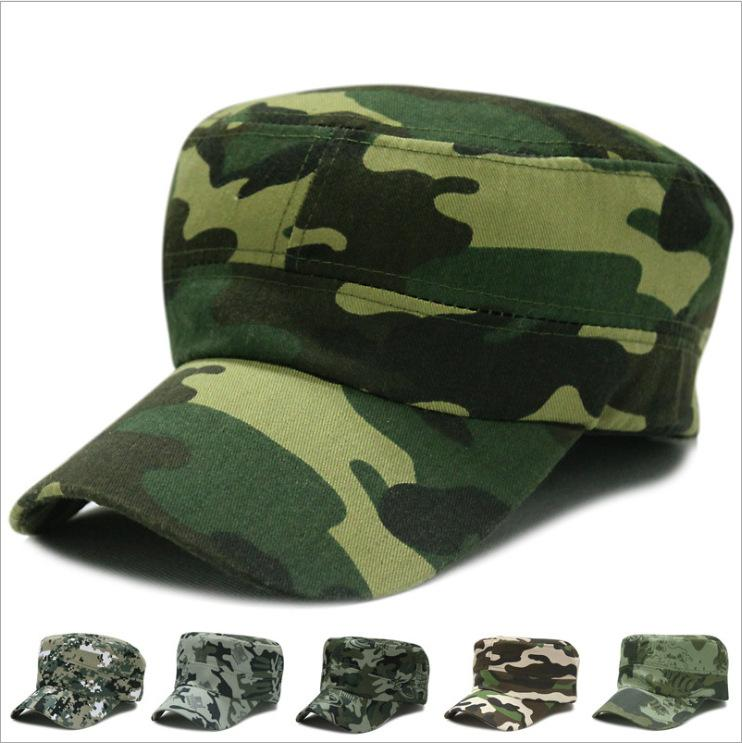 493cdb56869 Camo Camouflage Military Hats Men Tactical Cap Snapback Hat High Quality  Bone Dad Hat Trucker Navy Army Air Force Flat Top Hat UK 2019 From ...