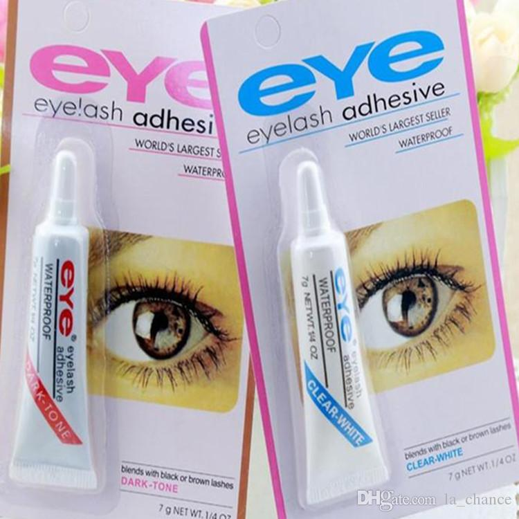fa8461b7acd Free DHL Eye Lash Glue Black White Makeup Adhesive Waterproof False  Eyelashes Adhesives Glue White And Black Available Best Eyelashes Duo Eyelash  Glue From ...