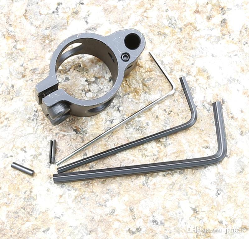 Ajustable Steel Micro-Block mit niedrigem Profil 0,75-Zoll-Stahlgasblock mit Stift für Jagdwaffenzubehör