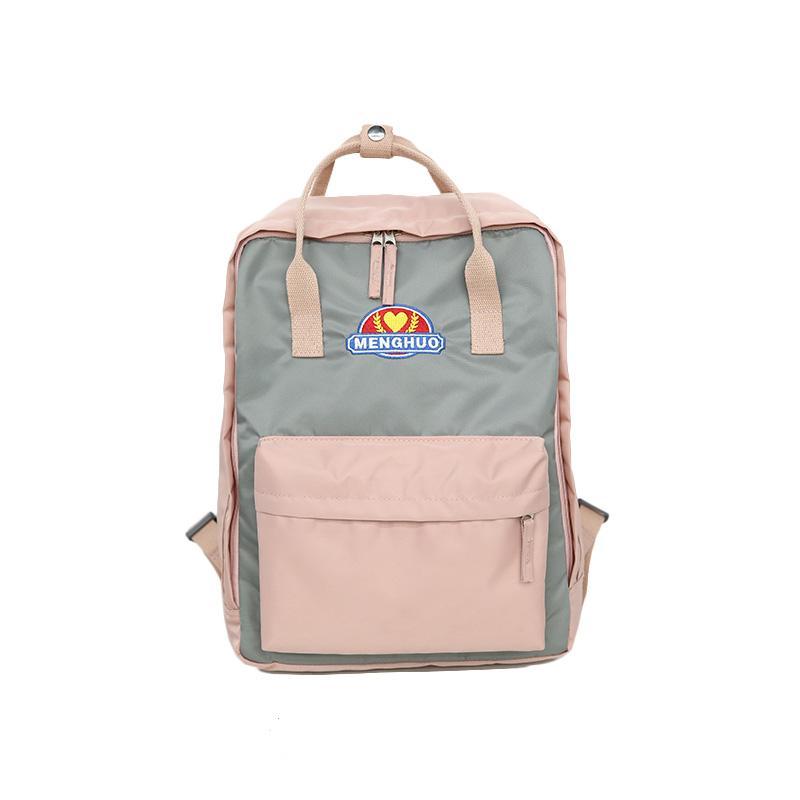 9549f7e79a3f MASEPHILI Panelled Waterproof Women Backpack School Bag for Girl ...