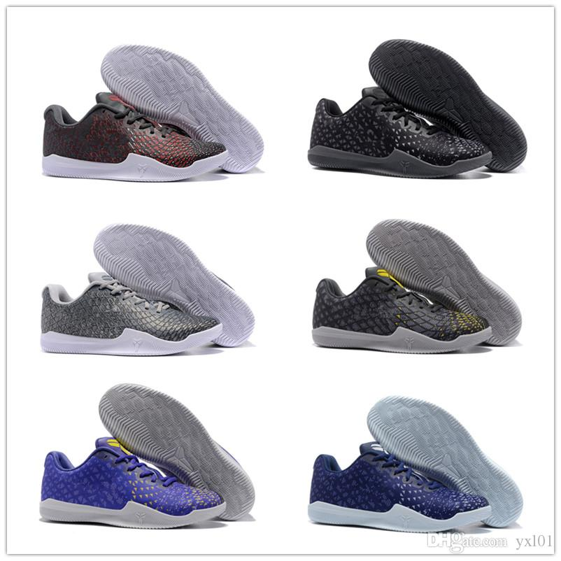 a1d778ae6bb7 2018 Cheap Sale Kobe 11 Mentality 3 Sports Basketball Shoes For High  Quality Men S KB 11s 3M Ash Purple Yellow Training Sneakers Size 7 12  Sneakers On Sale ...