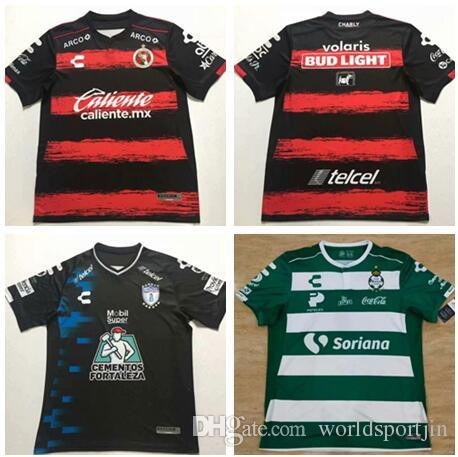 new style 0bcef f3b91 2018 2019 Mexico Club top quality Tijuana Pachuca Santos Laguna soccer  Jersey free shipping Football Shirt