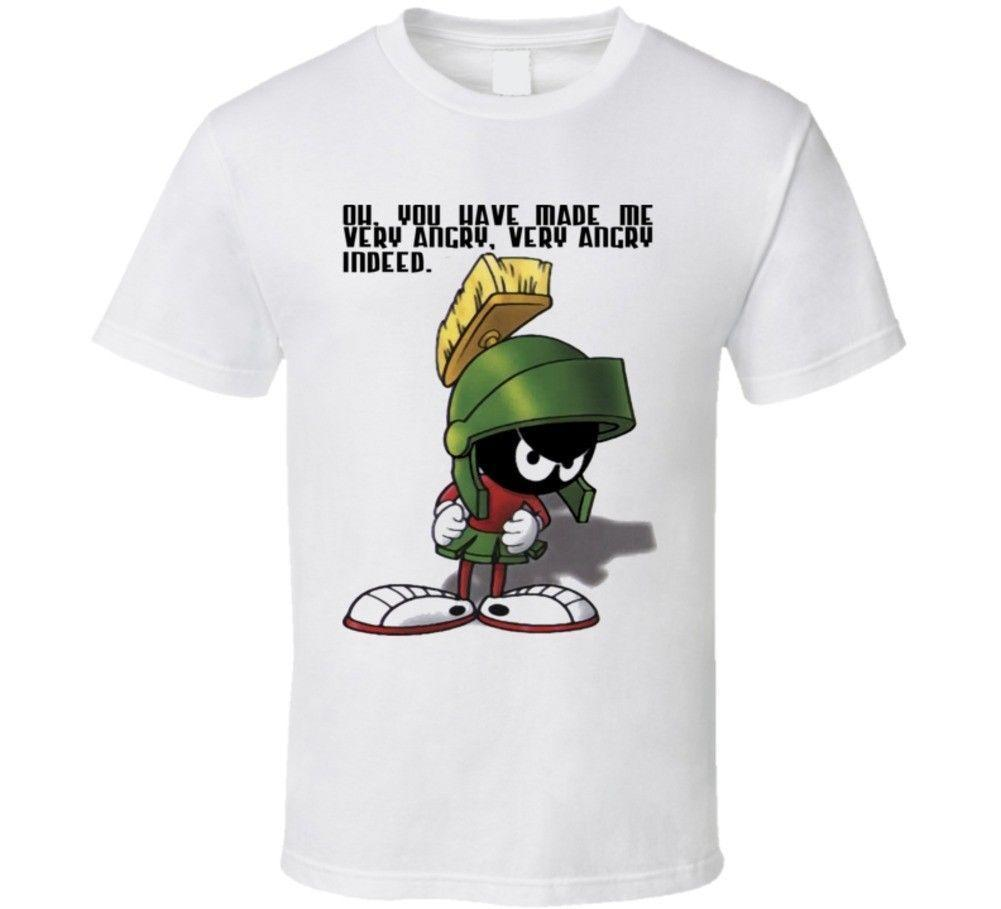 a2cd0449 Looney Tunes Marvin Martian T Shirt Mens 2018 Fashion Brand T Shirt O Neck  100%cotton T Shirt Tops Tee Custom Environmental Tshirt And Shirt Shirts  Cool ...