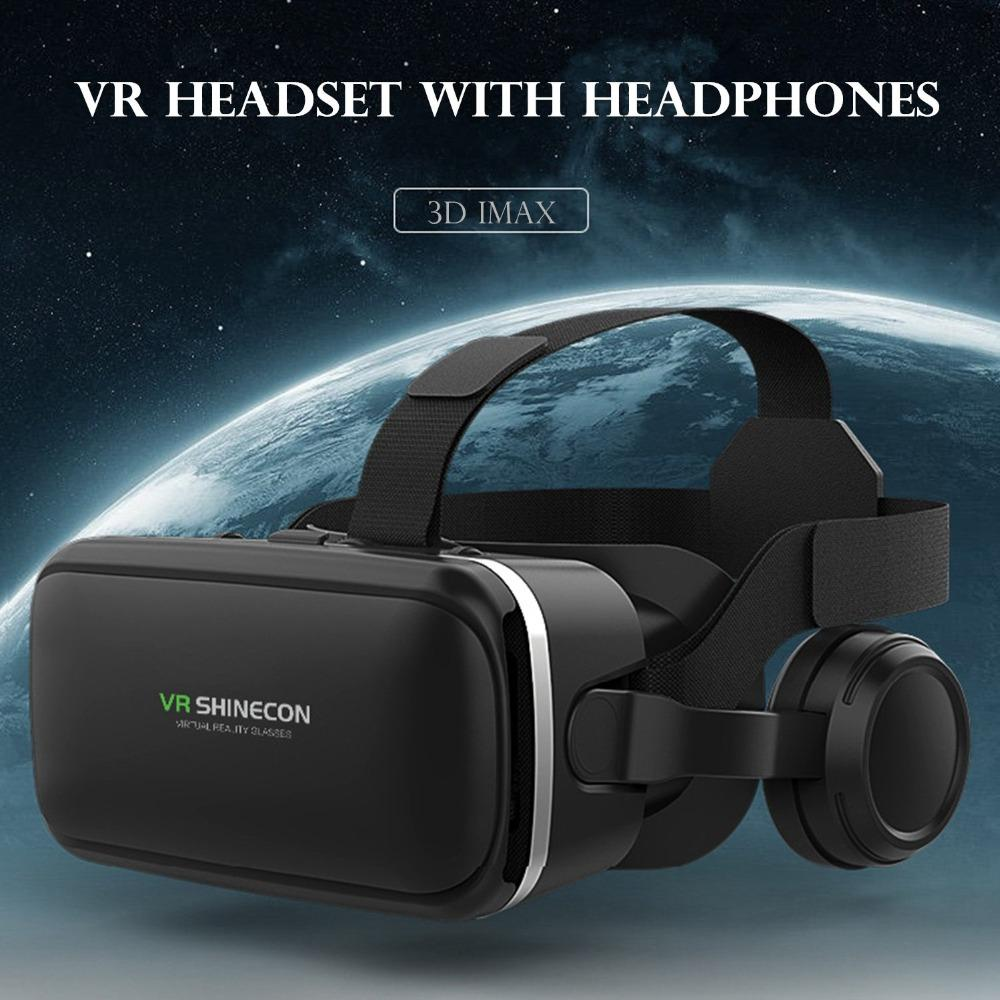4e371d8a1b32 VR Headset With Headphone Panoramic 360 Viewing VR Eyeglasses Set Virtual  Reality Goggles To Watch Video Movie Gafas Virtual Eye Buy 3d Glass  Disposable 3d ...