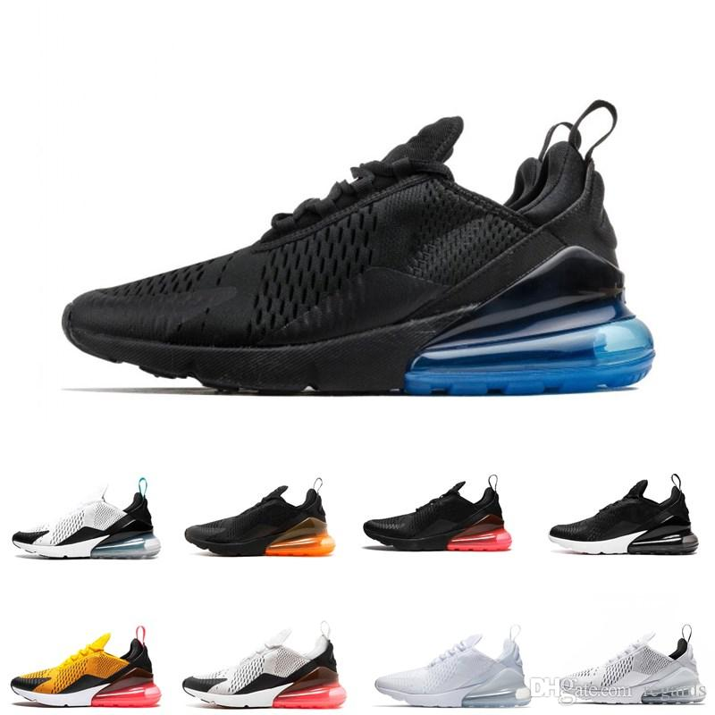 f07847b893d603 Fashion 270 Bruce Lee Teal Triple Black White Medium Olive Navy Punch 27C  Photo Blue Mens Running Shoes for Men 270s Sports Sneakers Women Basketball  Shoes ...