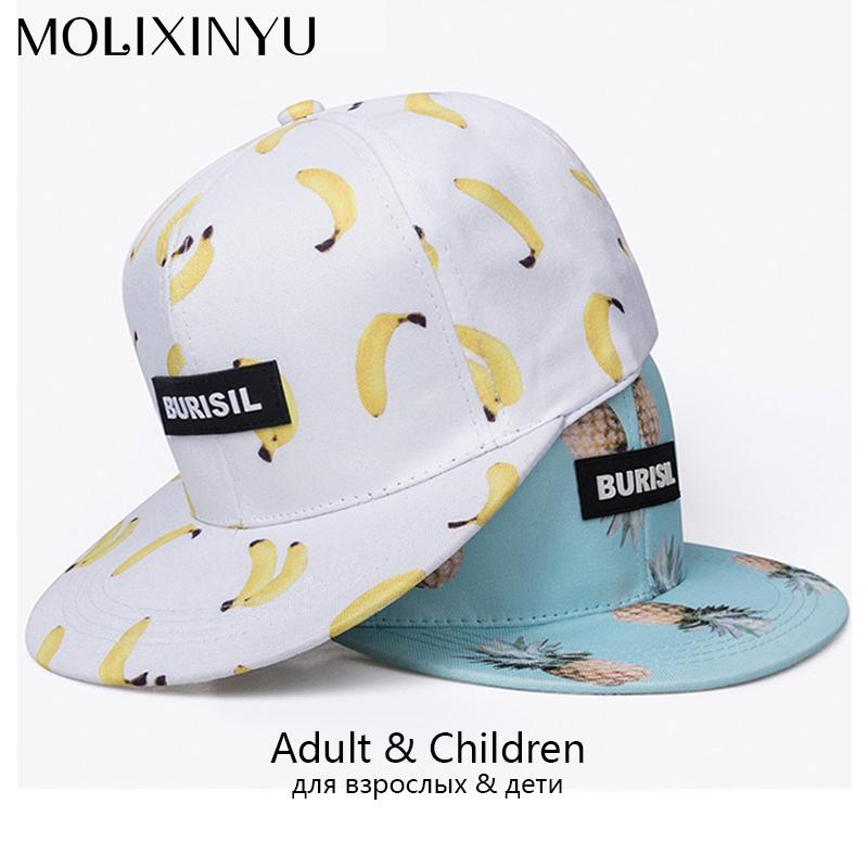 e7548e61210 2019 MOLIXINYU Snapback Caps For Adult And Child Baseball Cap Baby Hip Hop  Hat Parent Child Boy Girl Hats Outdoor Sports Sun Hat From Ferdimand