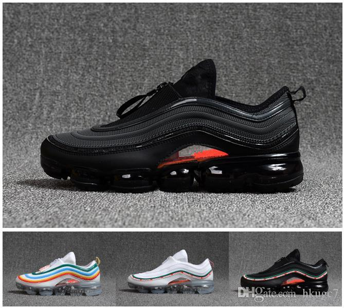 Vapormax 97 OG Bullet Running Shoes 2018 Men Women Cushion Undefeated Silver Metallic Gold Sports Athletic Run Shoes Outdoor Sneaker outlet free shipping discount many kinds of outlet view QDAzSgSG4u