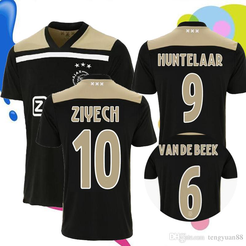 Top Thai Quality 2018 2019 Ajax FC Away Soccer Jersey 18 19 KLAASSEN ... 3796806f0