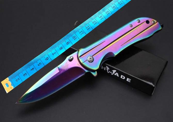 Venta al por mayor BROWNING DA92 cuchilla de colores plegable cuchillo de caza Caza Supervivencia Cuchillo Broche EDC Herramientas Cuchillo de regalo plegable exterior