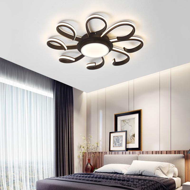 Großhandel New Led Kronleuchter Für Wohnzimmer Schlafzimmer Hause Lustre  Para Sala Ac85 265v Moderne Led Deckenleuchte Kronleuchter Leuchten  Leuchten Von ...