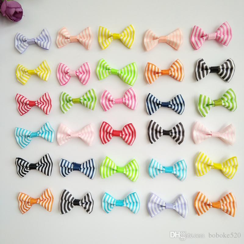 16384aa81182 Hair Accessories Small Hair Clips For Girls Mini 1.4inch Bow Sweet Stripe  Printing Kids Hairpins Children Barrettes Wholesale Hair Accessories For  Kids ...