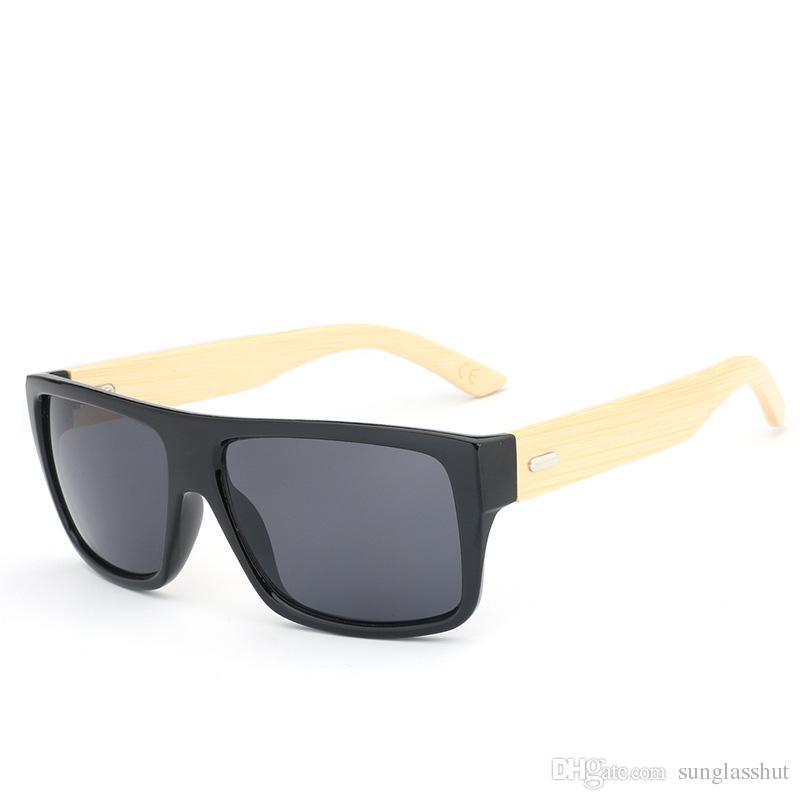 02c9006ca2 Compre Moda 2019 Gafas De Sol De Bambú De Madera Con Lentes Polarizadas  Sizd Grande Unisex Alta Calidad Bajo MOQ UV400 Logo Personalizado A $2.75  Del ...