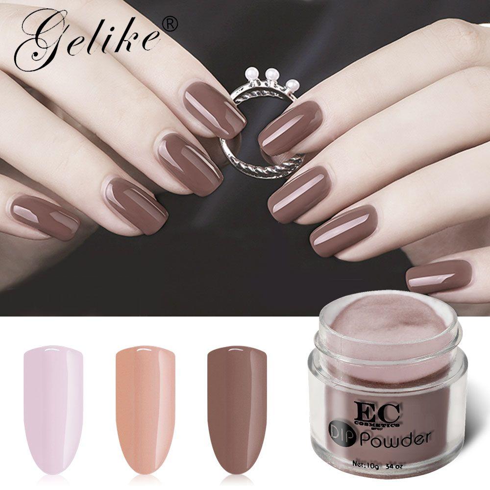 Dip Powder Nail Polish Black And White Nail Designs Glitter Powder ...