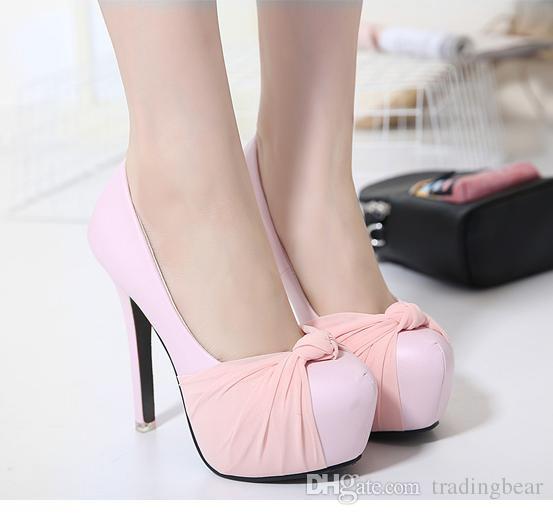 Luxury Ivory white glitter wedding shoes sandals elegant bridal shoes pumps platform high thick heels 2015 size 35 to 39