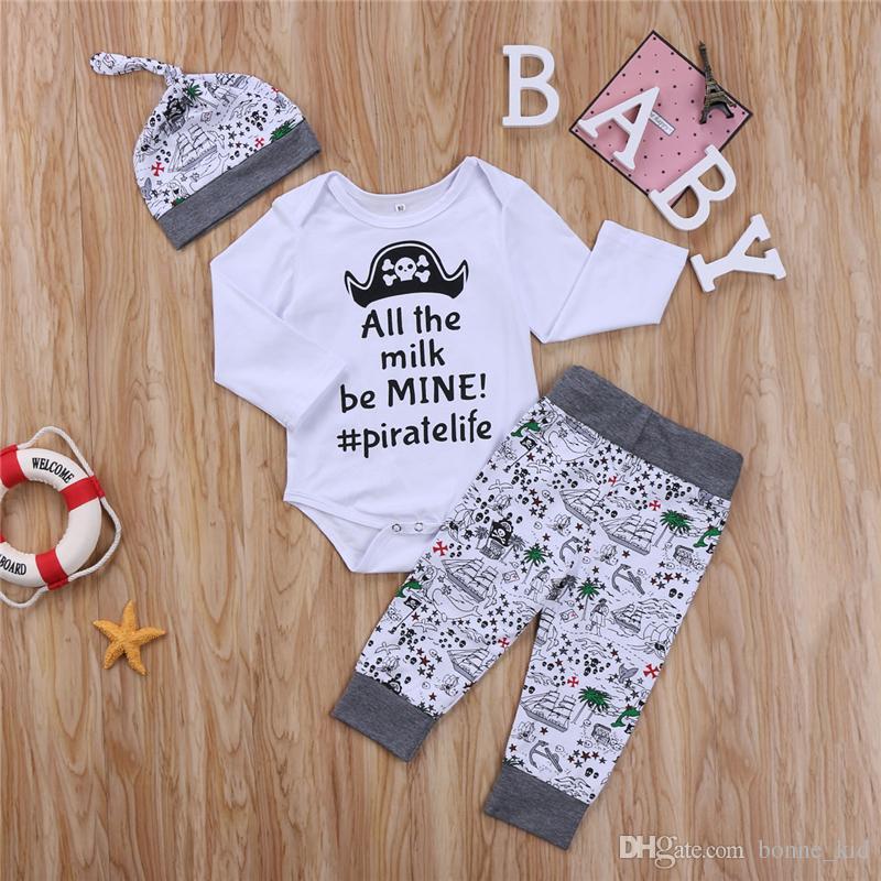 Grosshandel Neugeborenes Baby Jungen Kleidung Kleinkind T Shirt