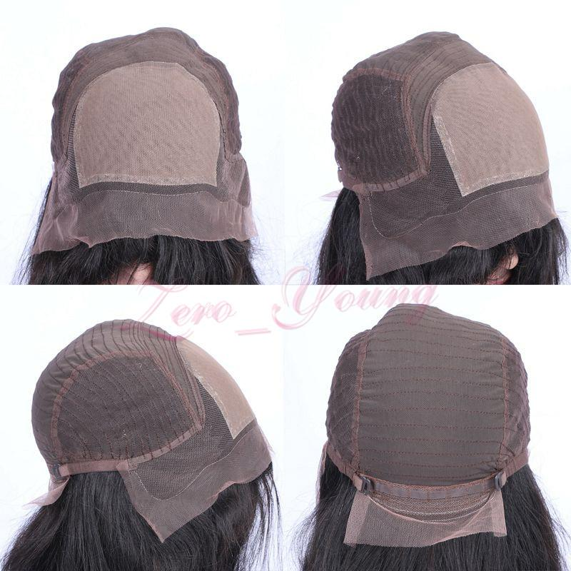 Ombre Human Hair Lace Front Wigs T1b 99j Two Tone Full Lace Wigs With Baby Hair Peruvian Virgin Hair Straight Dark Root Burgundy