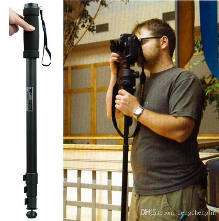 WeiFeng WT1003 WT-1003 직업적인 합금 사진기 삼각대 Monopod 대 Canon Eos Nikon D DSLR 사진기 및 전화를위한 67