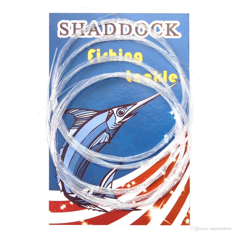 Toptan Satış - Toptan-/ Fly Olta 9FT 1X-5X Naylon Fly Fishing Lideri Temizle Konik Lideri Balık hattı Fly
