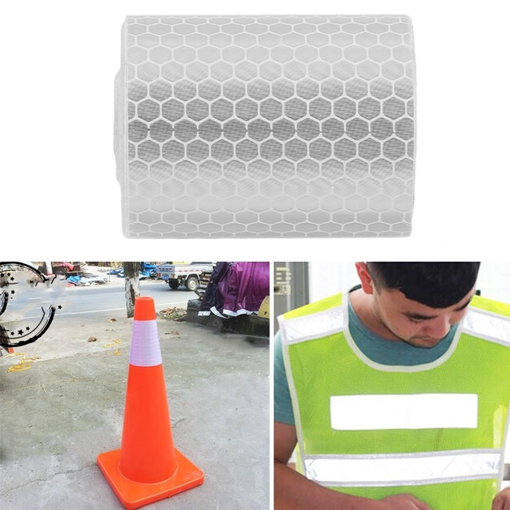 Reflective Material 5cmx3m Safety Mark Reflective Tape Stickers For Bicycles Frames Motorcycle Self Adhesive Film Warning Tape Reflective Film Back To Search Resultssecurity & Protection