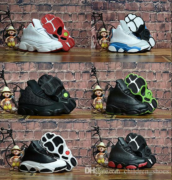 cheap for discount 6305f 42a59 New Kids 13 13s basketball shoes Chicago He got game Bred altitude DMP boys  girls sneakers children baby sports shoes size 11C-3Y