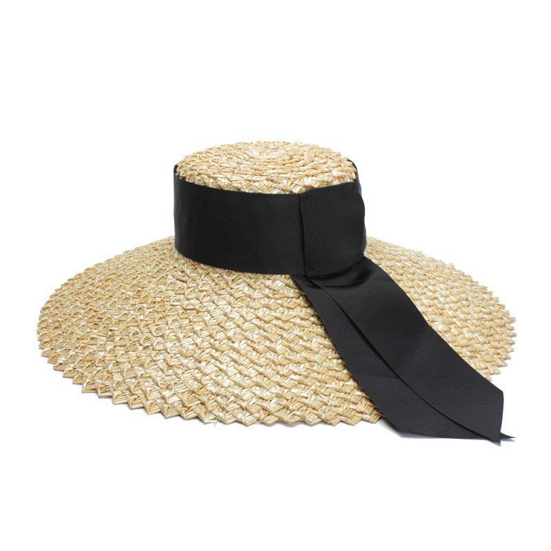 Acquista Cappello Da Spiaggia Cappello Da Spiaggia Cappello Elegante Da Estate  Cappello Da Sole Grande Super Piatto A Tesa Larga A  42.24 Dal Nectarine99  ... a7e6af456351