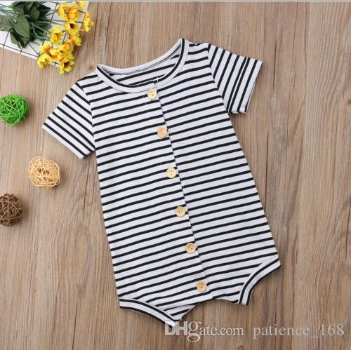 6846f209085b Cotton Romper 2018 INS Summer New Style Hot Selling Baby Kids ...