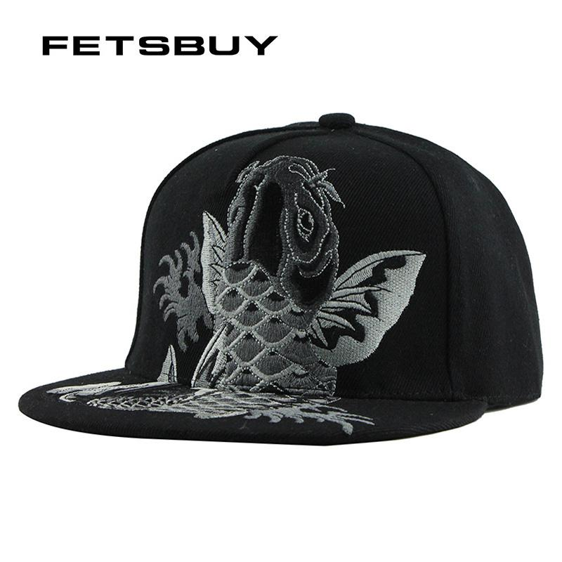 FETSBUY Embroidery Cool Flat Baseball Cap Mens Fitted Hat Casual Gorras  Snapbacks Flag Hat Ourdoor Hip Hop Snapback Caps F137 Hatland Brixton Hats  From ... d040415693d