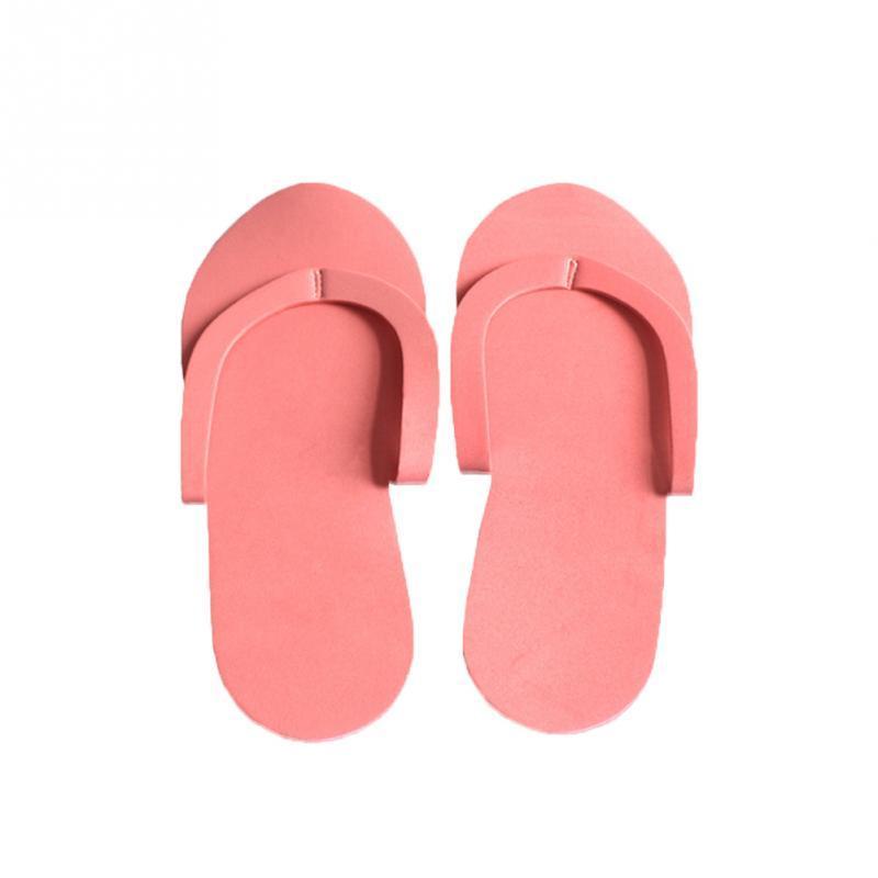 807185345731 Disposable Slippers Women EVA Foam Soft Hotel Salon Spa Elastic ...