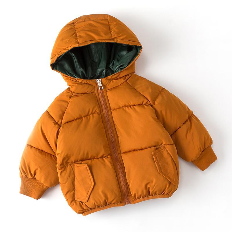 Acheter 2018 Haute Qualité Enfants Coton Hiver Vêtements Veste Garçons  Filles Enfants Capuche Manteau Épais Chaud Parka Survêtement B57 De  52.67  Du Namenew ... 65297e78acd3