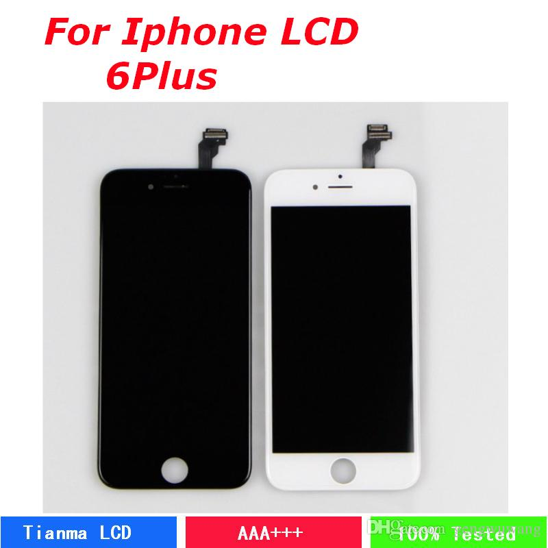 c3e75b58f839b9 TIANMA AAA LCD Display For IPhone 6 Plus Lcd Digitizer Touch Glass ...