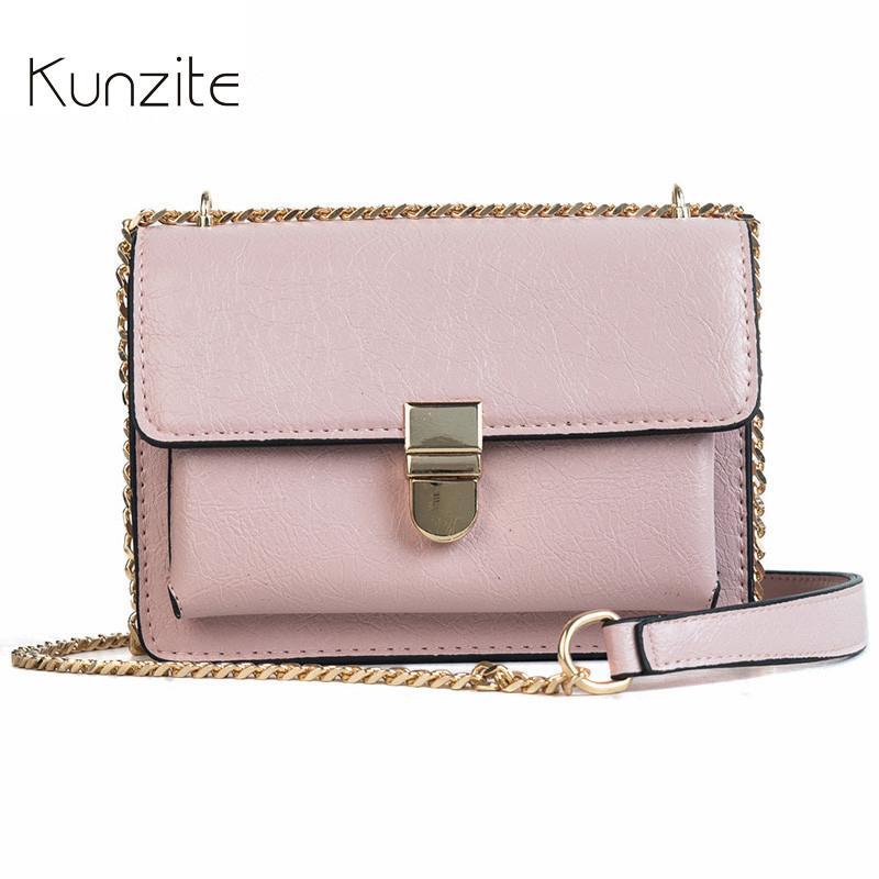 cec5c3c217 2019 Fashion Kunzite Brand New 2018 Women Handbags Sac A Main Crossbody Bags  Designer Handbags High Quality PU Leather Flap Bolsos Mujer Hot Black  Leather ...