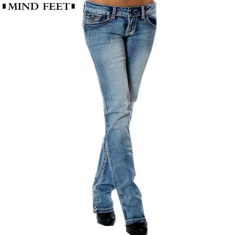 2019 MIND FEET Women Jeans Femme Plus Size Slim Stretch Low Waist Female  Blue Vintage Straight Denim Pants Lift Hip Ladies Trousers From Zhenhuang,  ... e4b37e41d3c1