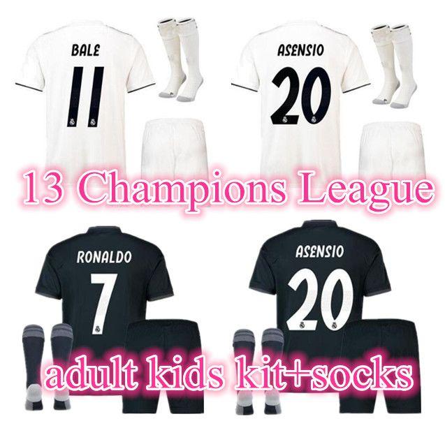 Frank Ronaldo Kids 7 Cr7 Juventus Home Kit Socks Shorts Shirt New Clothes, Shoes & Accessories Sportswear