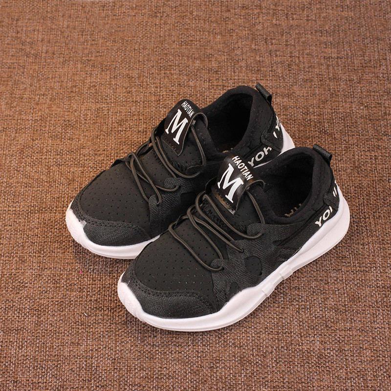46de354183 Compre Zapatos Para Niños Zapatos Para Niños Pequeños Zapatos Corrientes Para  Niños Zapatos De Color Sólido Para Niños Zapatillas Deportivas Para Niños  ...