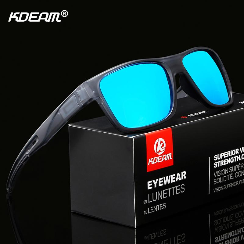 c28490f2d1 KDEAM Eliminates Glare Polarized Sunglasses Sport Rectangle Sun Glasses Men  Timeless Style Climbing Goggles With Box Discount Sunglasses Sports  Sunglasses ...